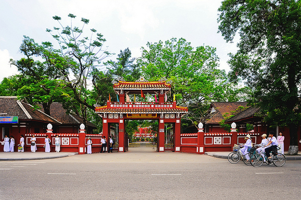 Gate of Quoc Hoc high school, Hue