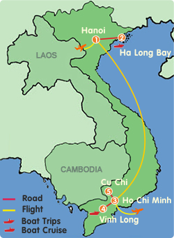 North And South Of Vietnam Tour 7 Days