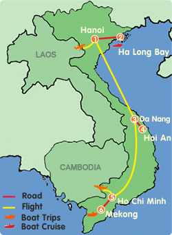 Vietnam At A Glance Tour-8 Days
