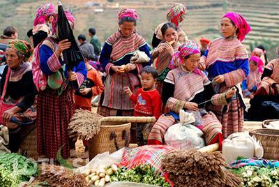 Ta Van Village Sapa Vietnam