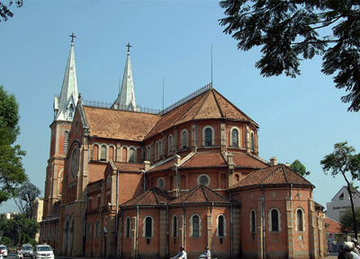 Duc Ba Cathedral in Ho Chi Minh