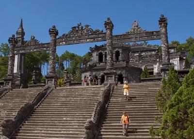 Khai Dinh Tomb - Hue Vietnam