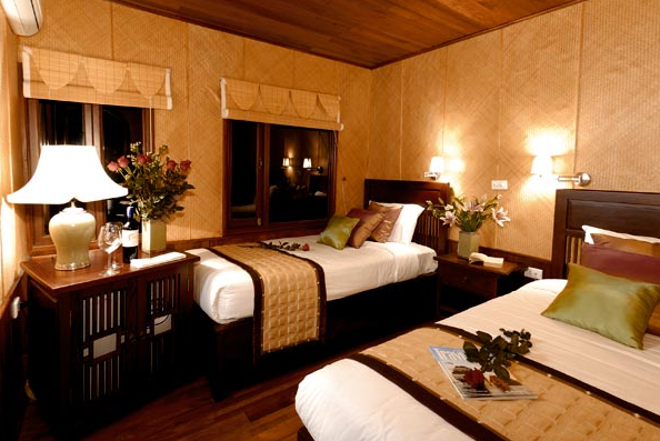 Twin room Indochina Sail Cruise