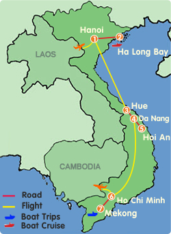 Vietnam Family Vacation-10 Days
