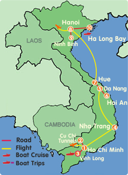 Vietnam Highlights Tour-14 Days