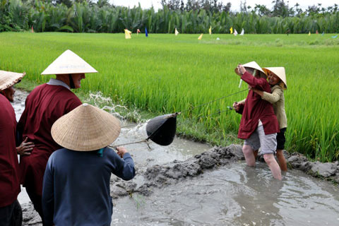 hoian farming tour