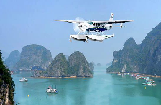 Seaplane Ha Long Bay
